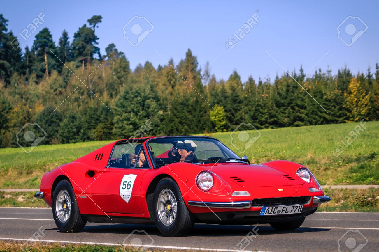 Augsburg Germany September 30 2018 1973 Ferrari Dino 246 Stock Photo Picture And Royalty Free Image Image 111723806
