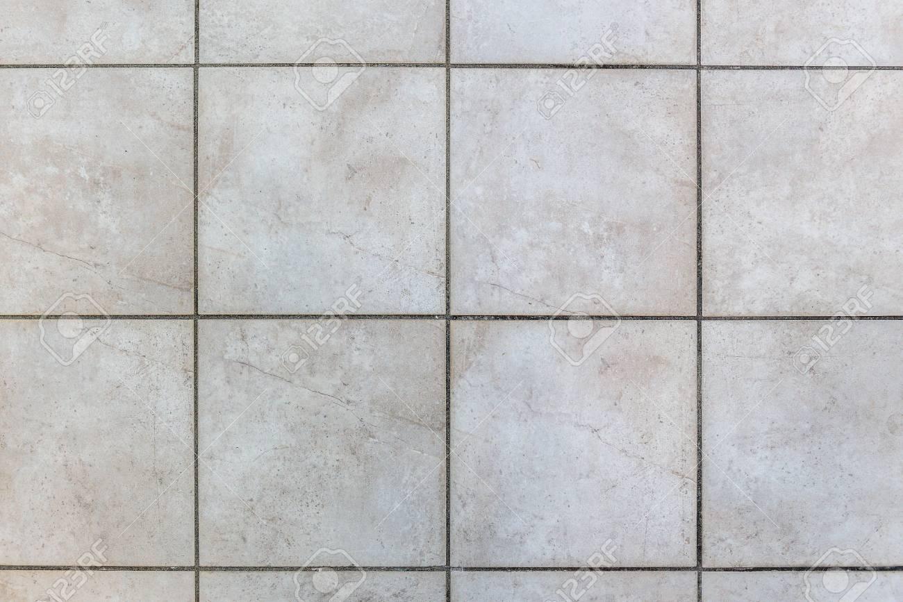 Innen Fliesen Im Bad Fliesen. Foto Von Innenböden Mit Grau Beige  Fahrbahnplatten. Standard