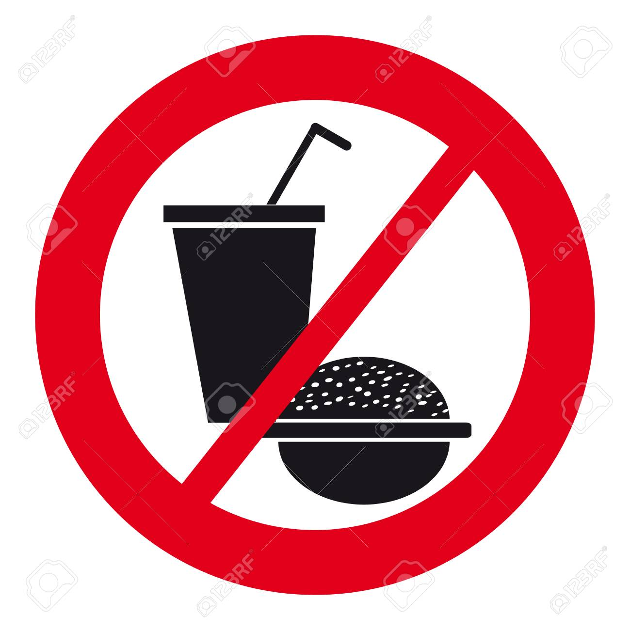 No food symbol choice image symbol and sign ideas no food symbol on white background vector illustration royalty no food symbol on white background vector biocorpaavc
