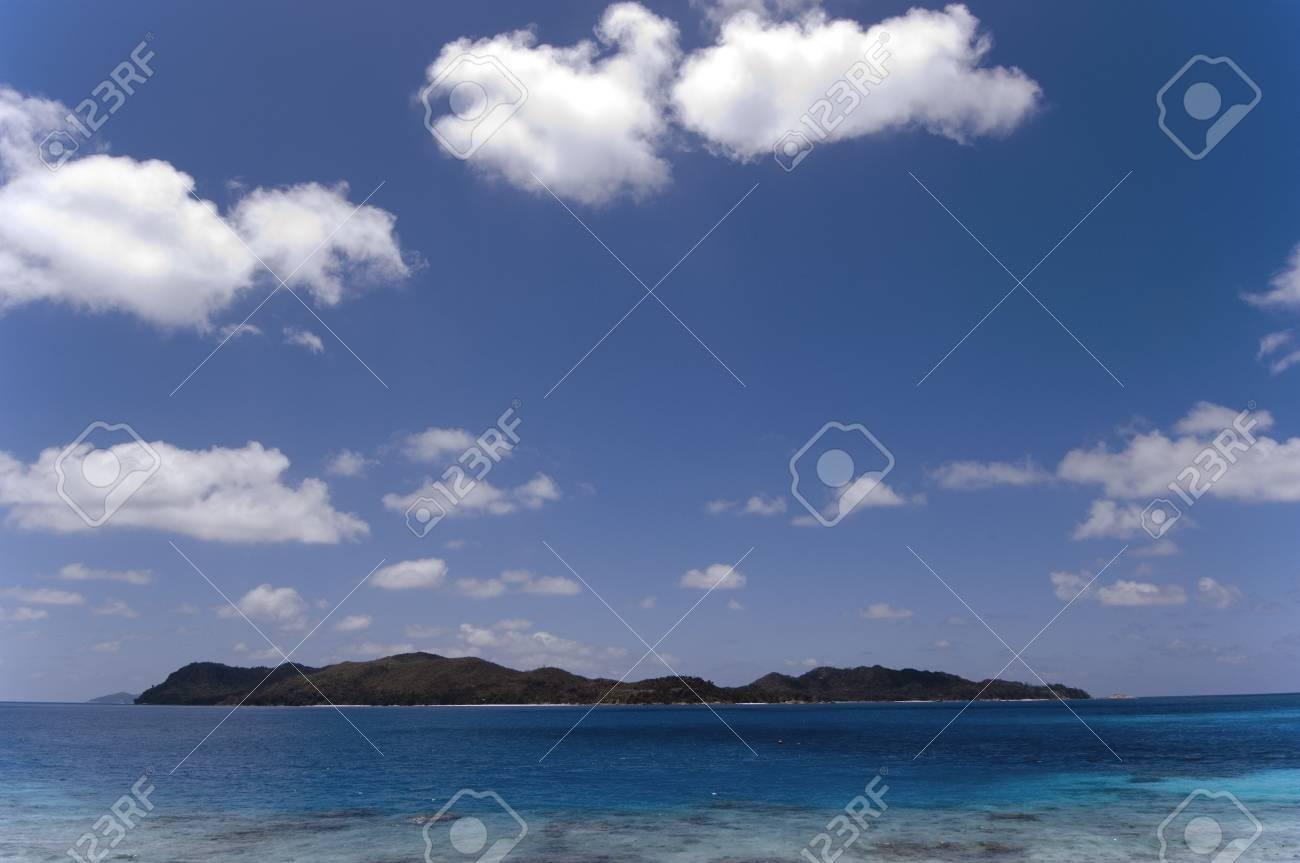 Praslin granite tropical  island, Seychelles Stock Photo - 952885
