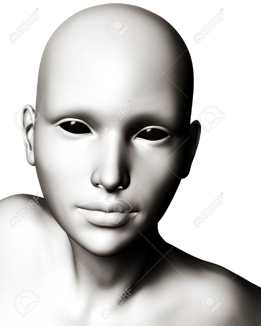 Resultado de imagen de hairless humanoid