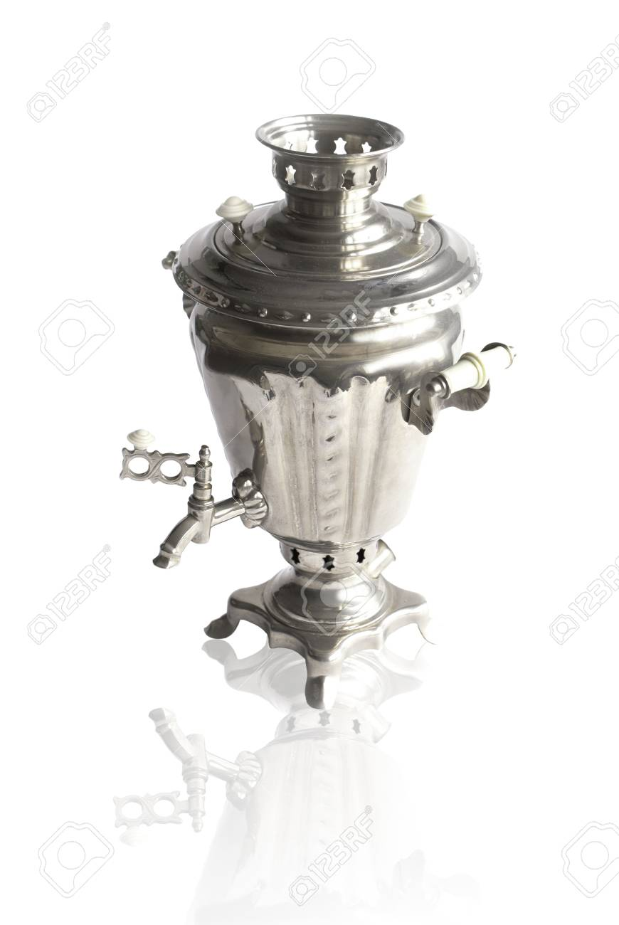 Russian samovar- ancient tradition of tea drinking Stock Photo - 12447999