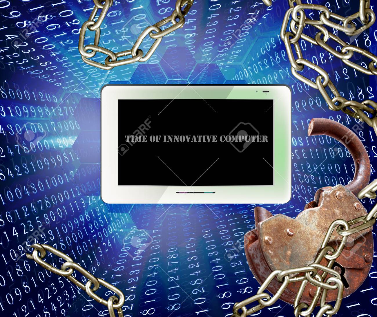 Time of innovative computer Internet technologies Stock Photo - 13628190