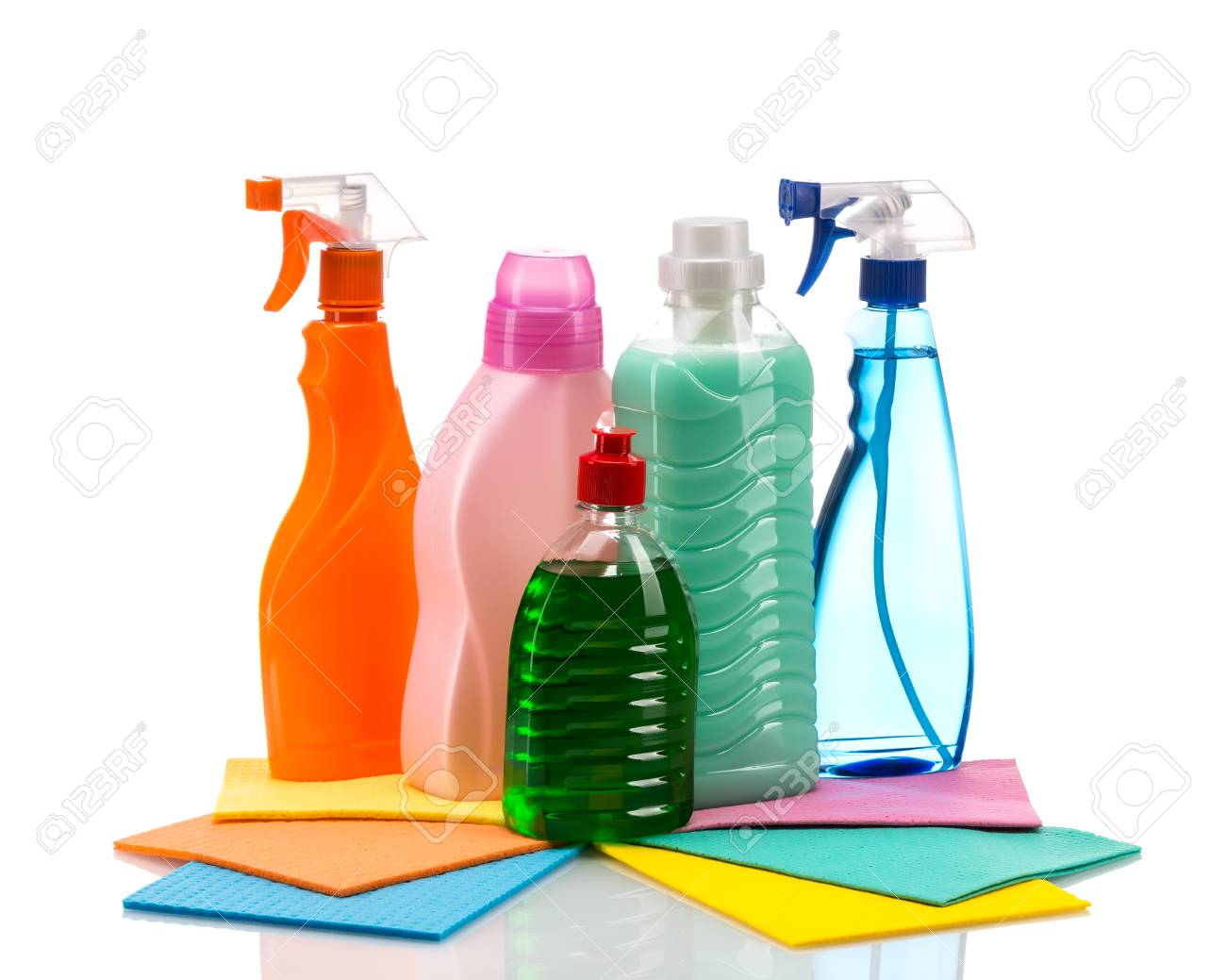 Producto De Limpieza De Contenedores De Plástico Para Limpiar La ...