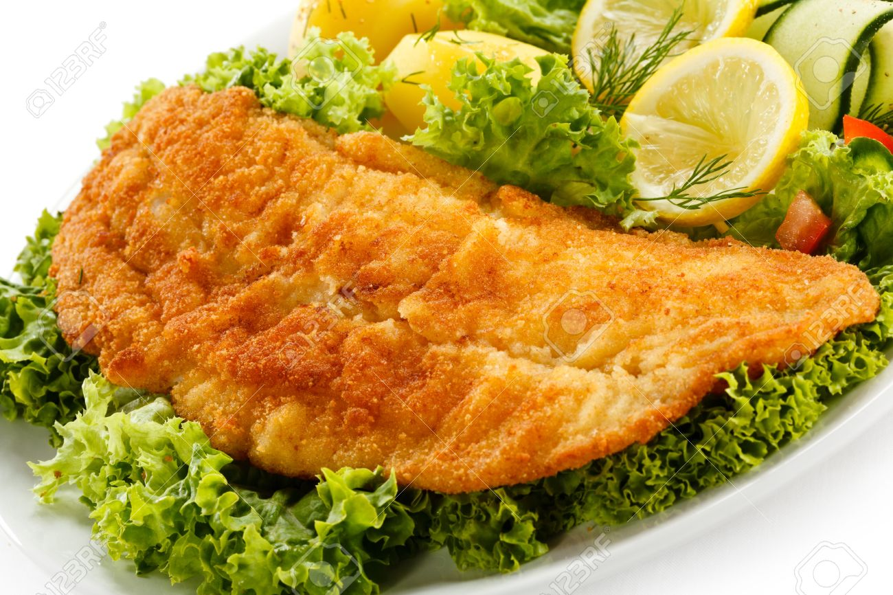 How to fry fish fillets