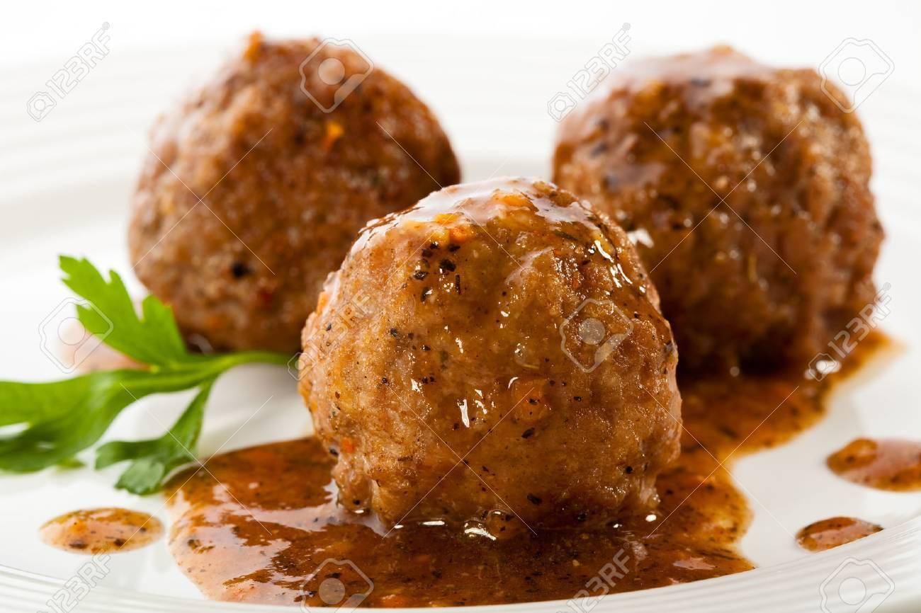 Roasted meatballs - 30149588