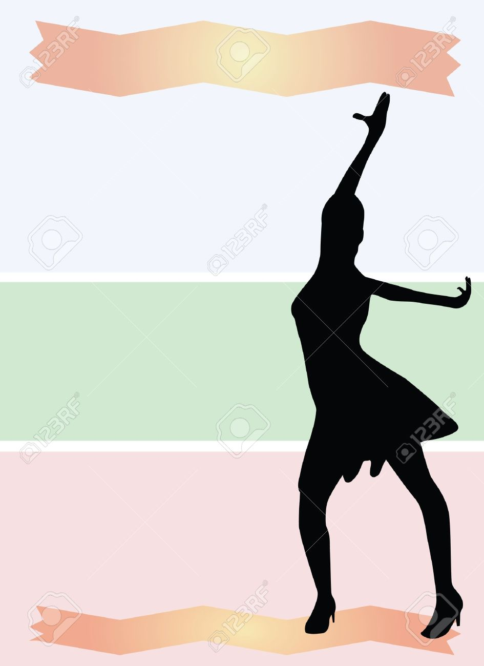 Dance background vector Stock Vector - 13185314