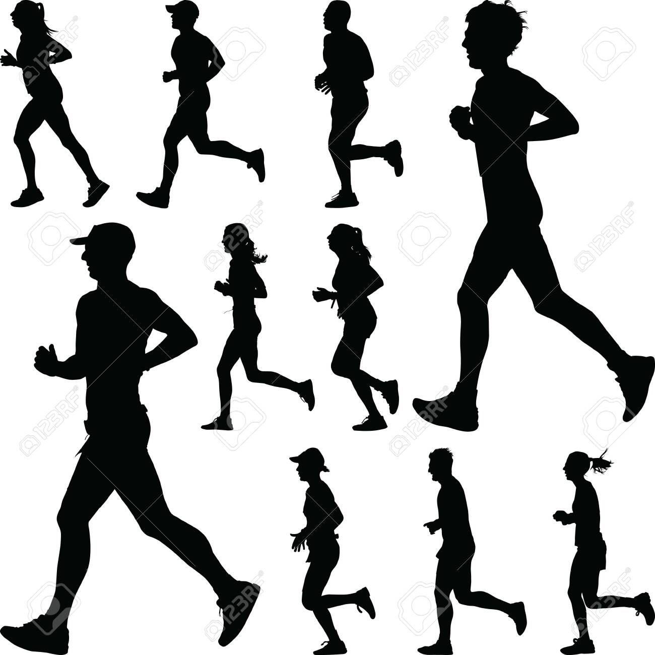 group of runners - 150942772