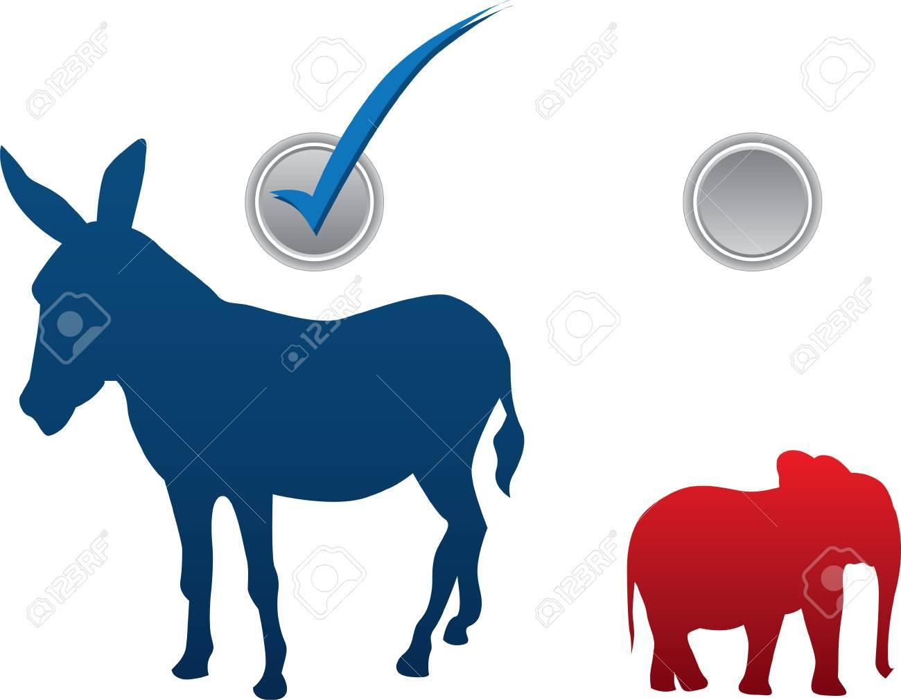 アメリカ選挙ベクトル イラスト ...