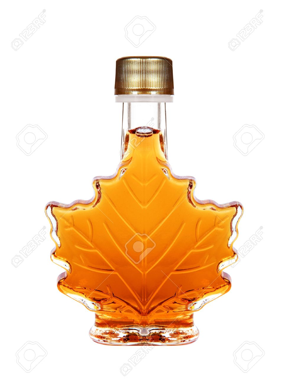 63c6cdc65a6 Maple Syrup Bottle Isolated On A White Background Stock Photo - 42391997