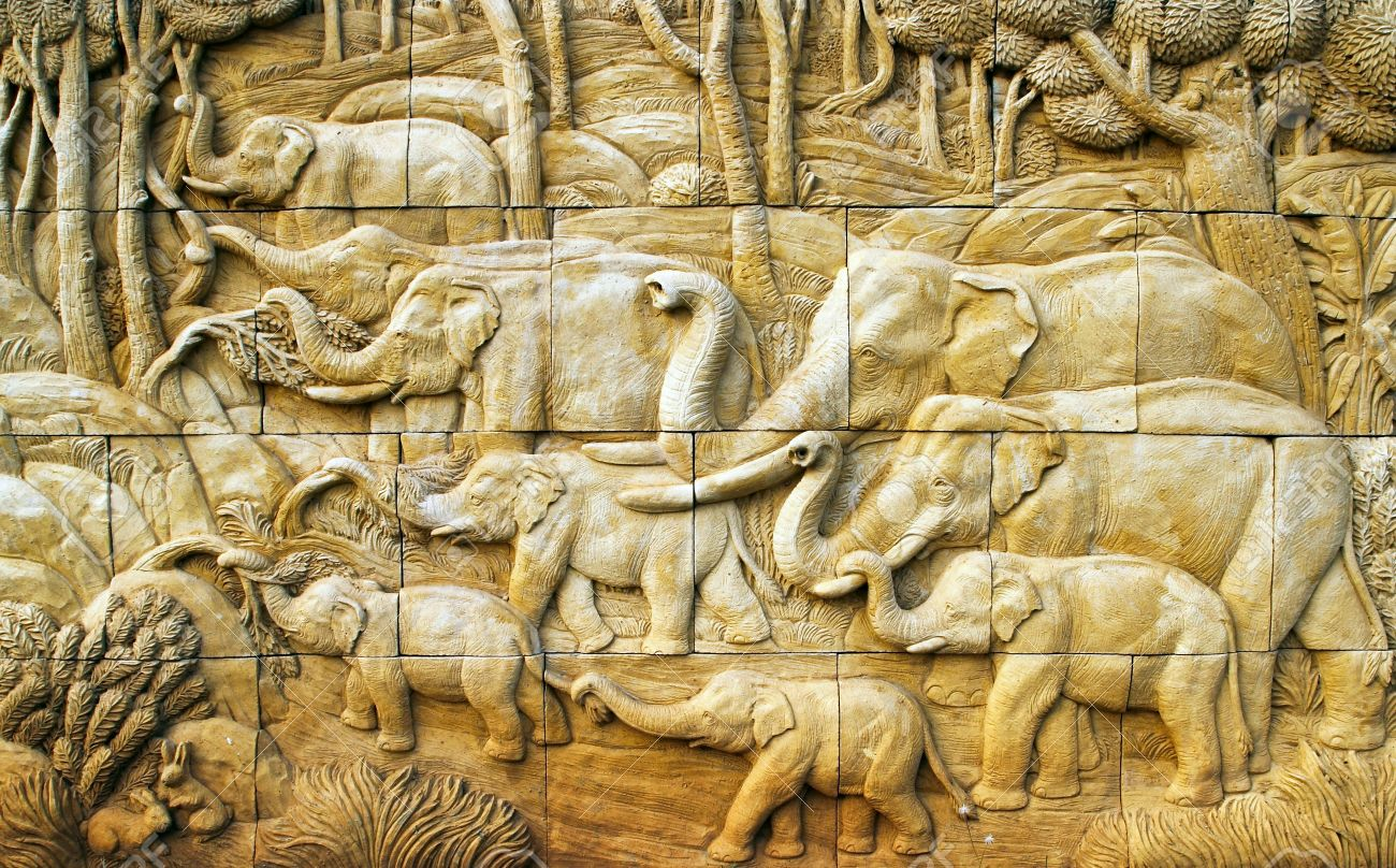 Magnificent Carved Wood Wall Art Decor Sketch - Wall Art Collections ...