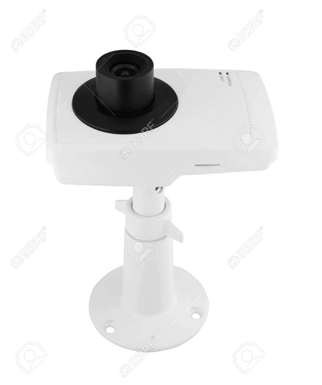security camera on white background Stock Photo - 20446201