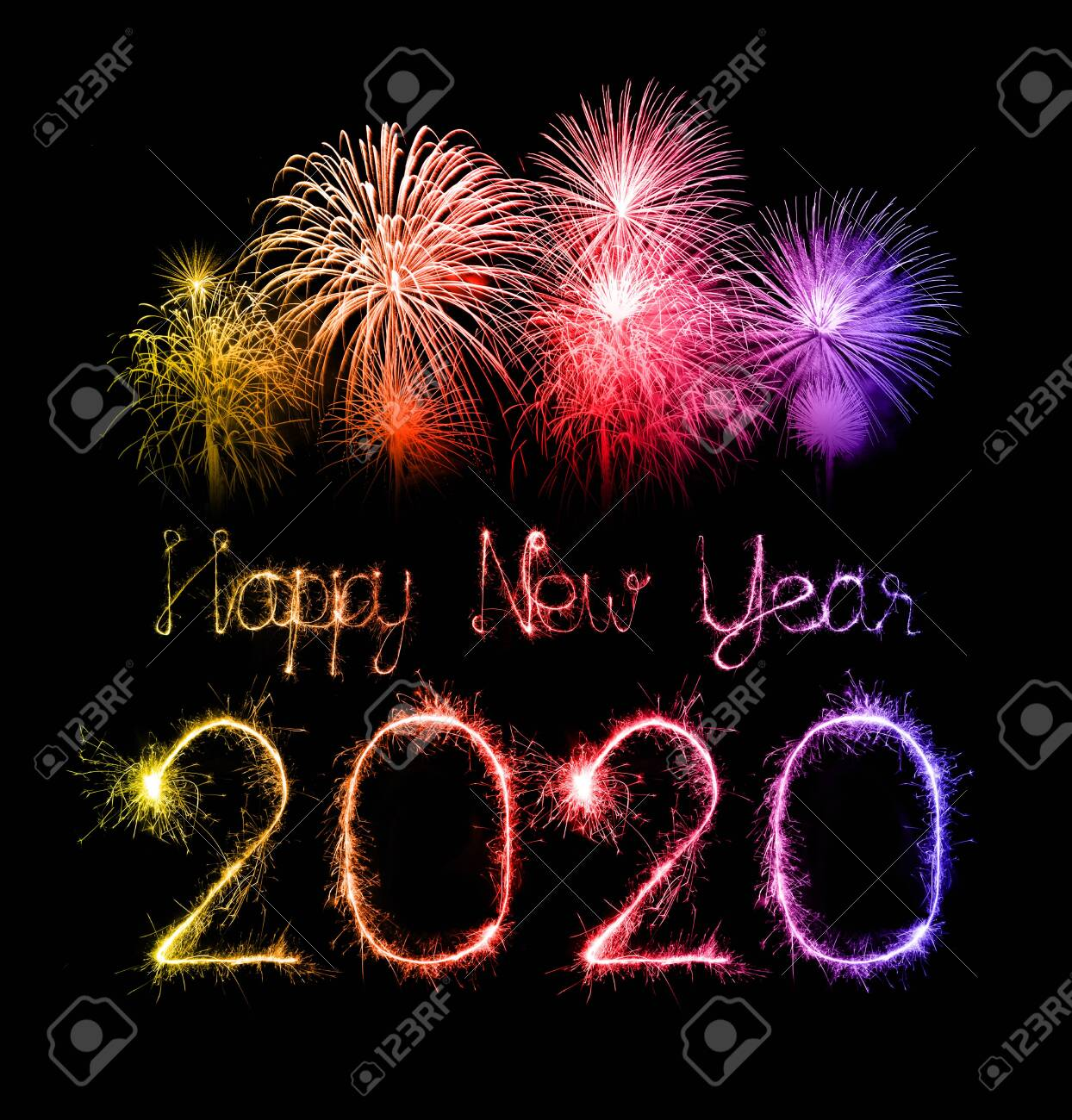 Happy New Year Fireworks 66