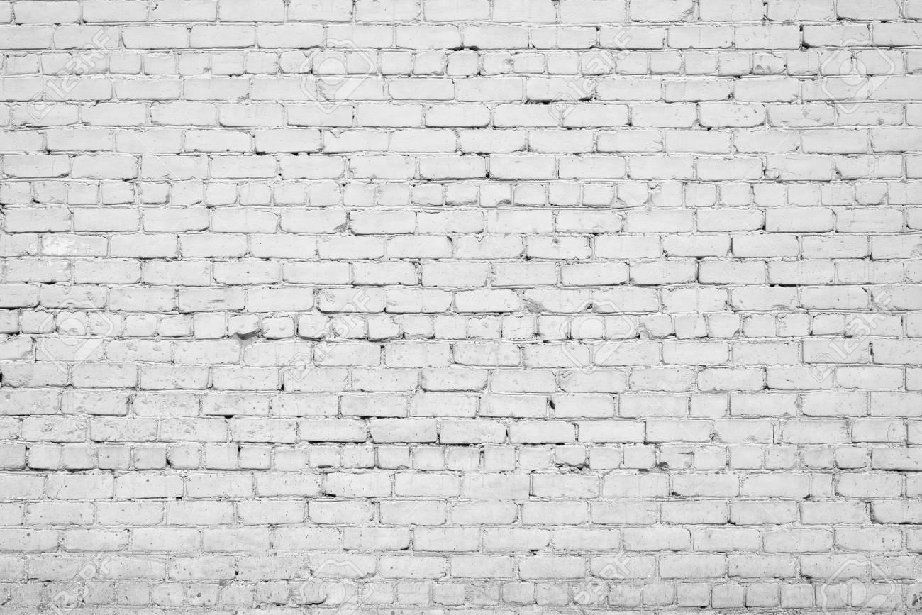 Peinture De Stuc Blanc Texture Brique Mur Fond Intérieur