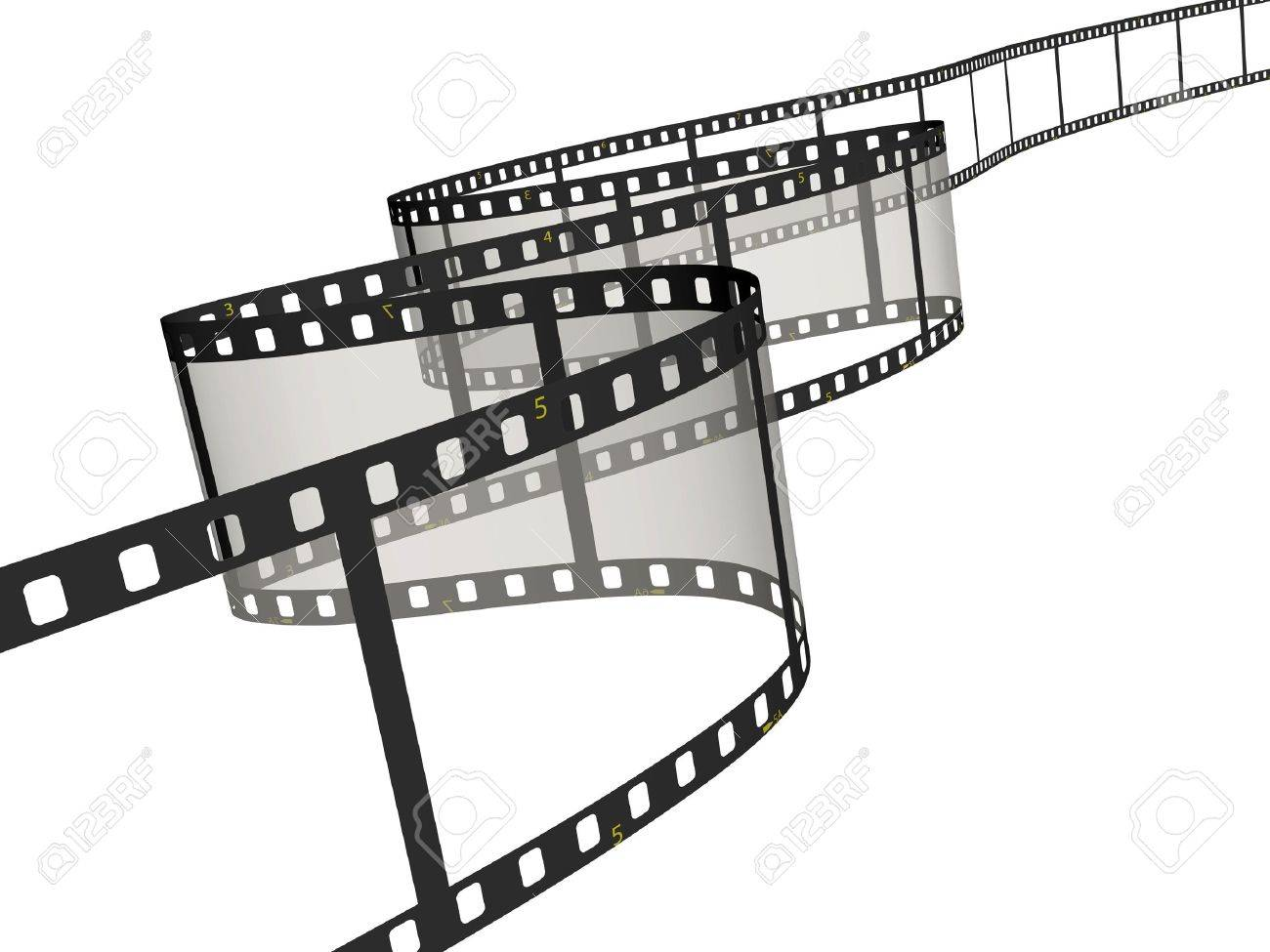 Ribbon of the film Stock Photo - 3181470