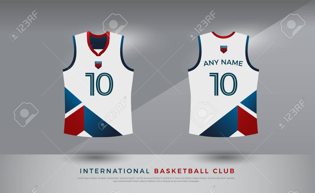 Basketball T Shirt Design Uniform Set Of Kit Volleyball Jersey