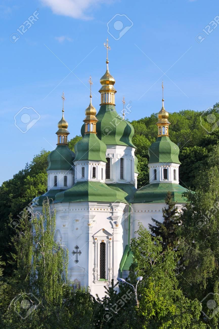 vidubichi monastery, kiev, ukraine Stock Photo - 9584539