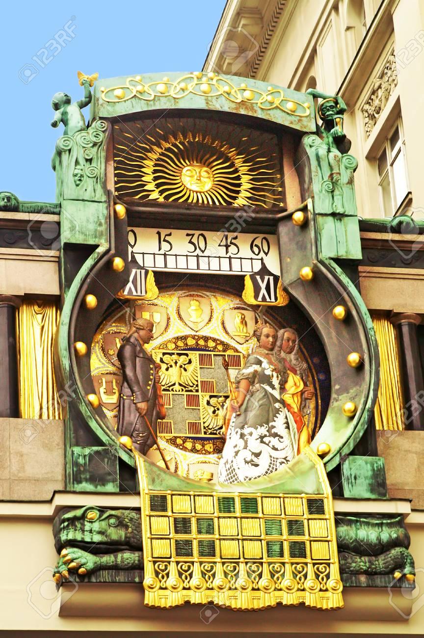 Ankeruhrreloj Astronómico VienaaustriaConstruido En Reloj Matsch Por AnkerFamoso Franz Von dtrhCxQs