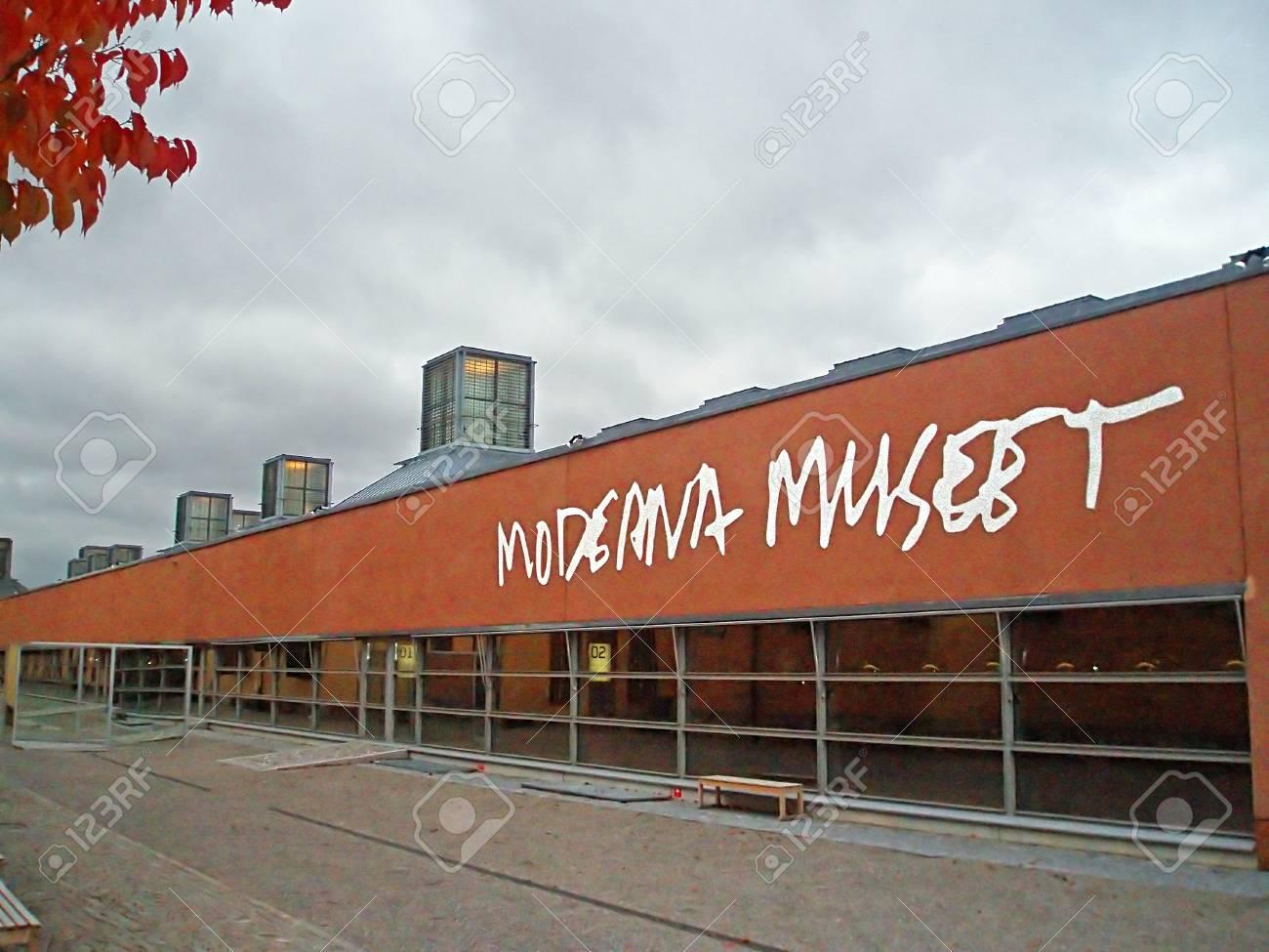 The Modern Art Museum In Stockholm Sweden