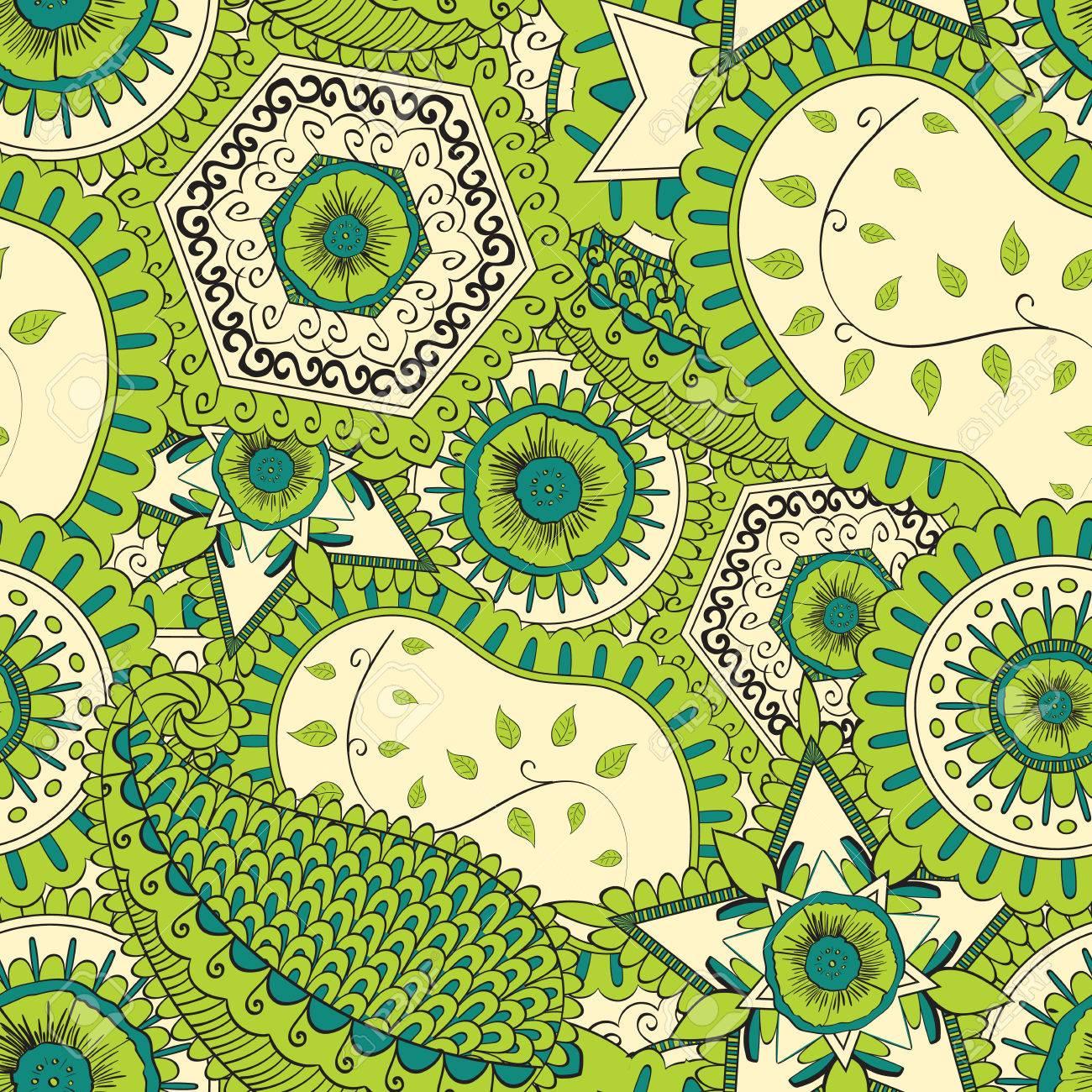 el color verde indica la naturaleza de la filiacin estilo mehendi es neutral y no