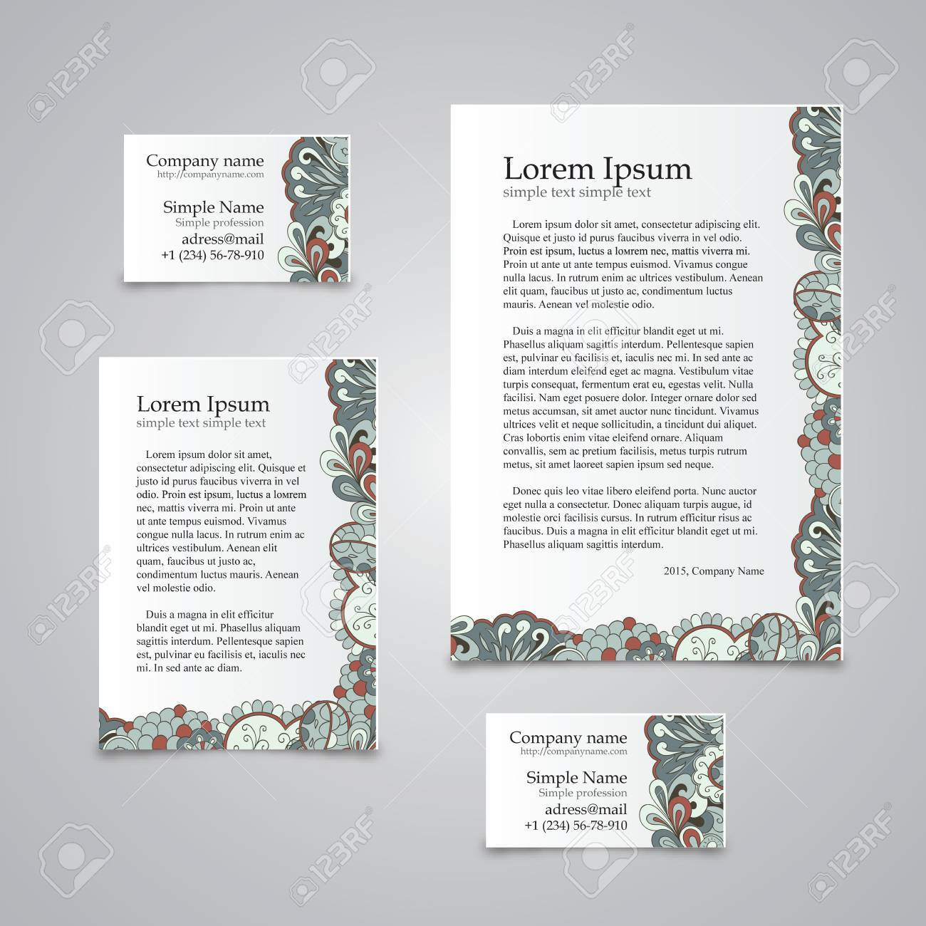 Famous Business Card Ratio Contemporary - Business Card Ideas ...
