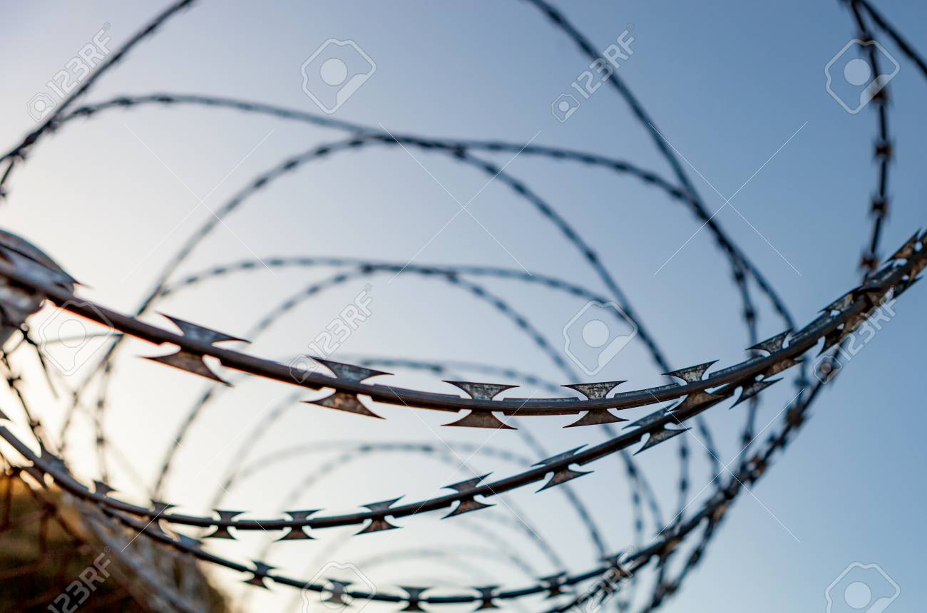 Barbed Wire Basketball Net - WIRE Center •