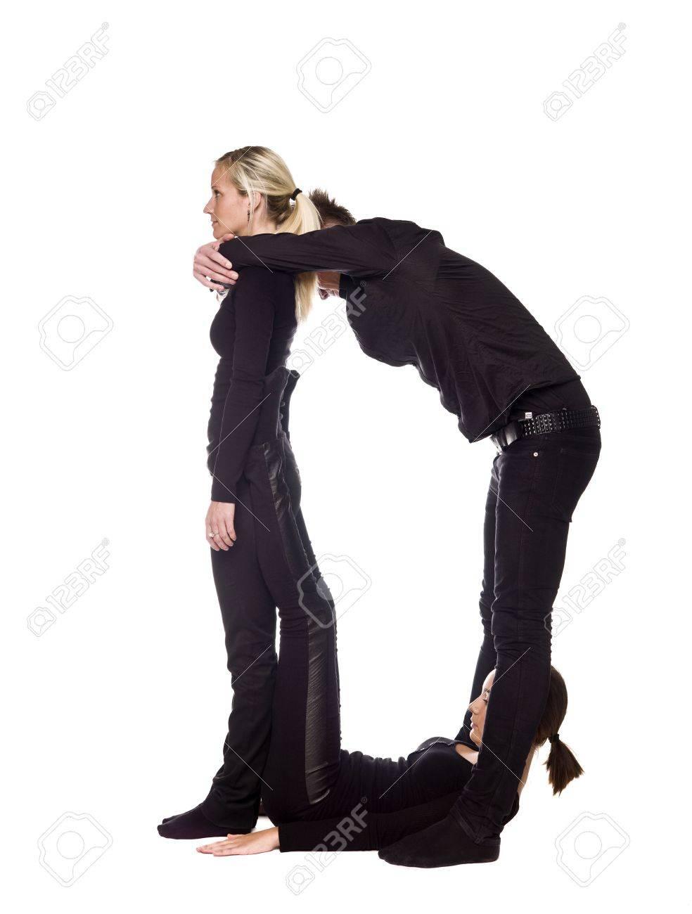Imagenes de personas vestidas de negro