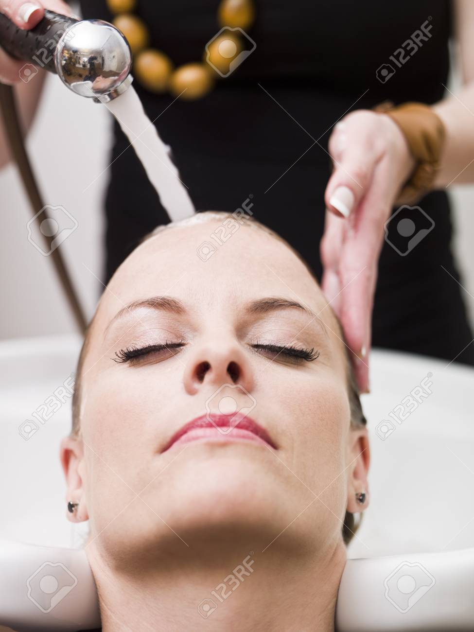 Relaxing at the Beauty Spa Stock Photo - 9287660