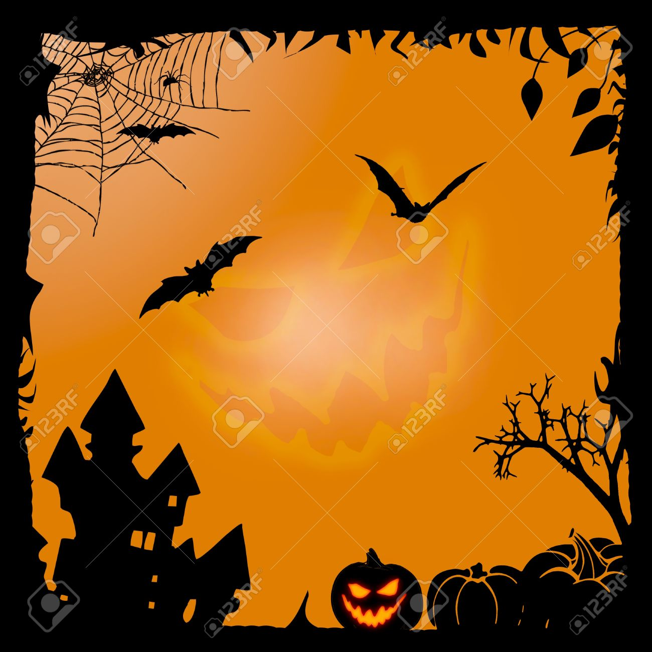 Halloween Background Stock Photo, Picture And Royalty Free Image ...