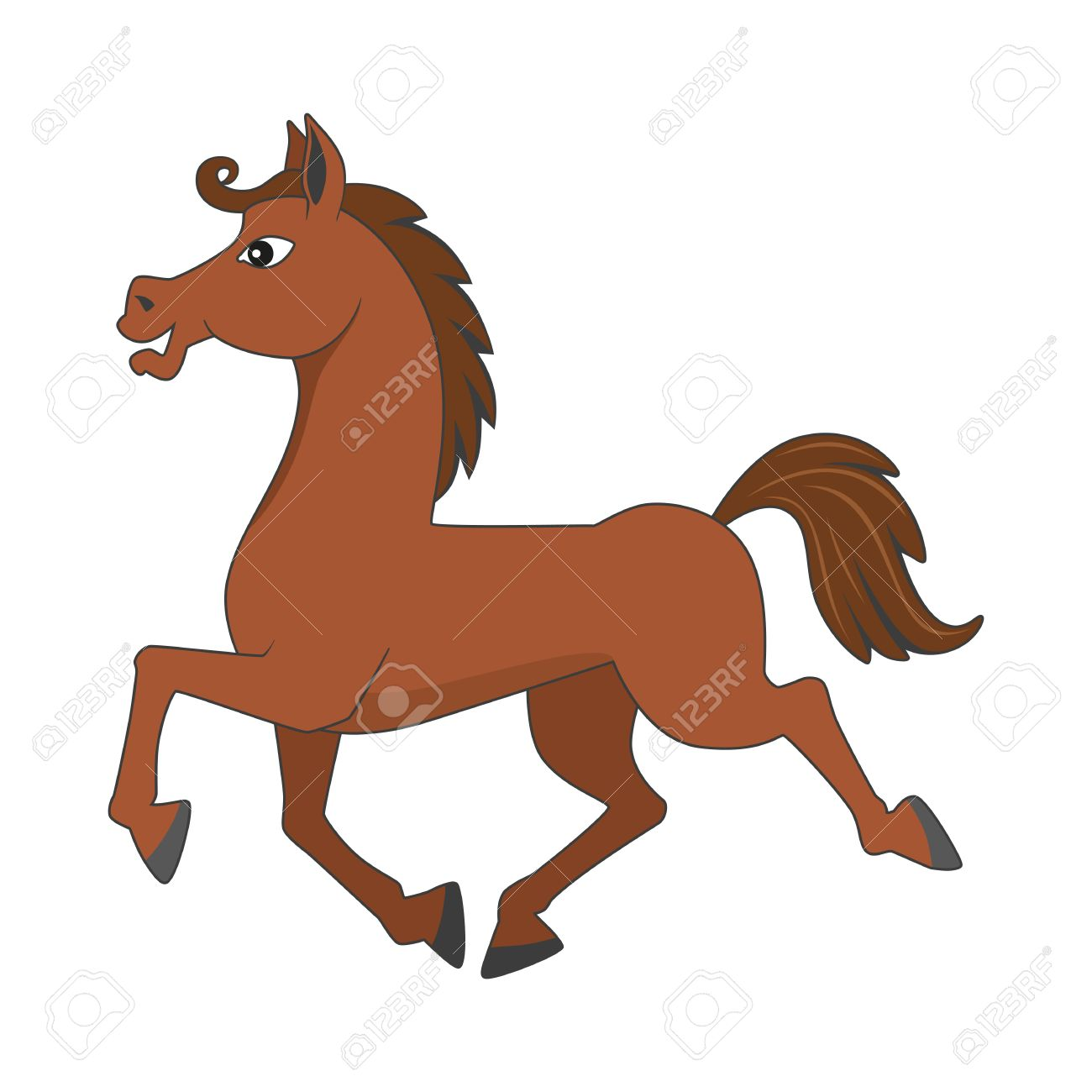 Running Cartoon Horse Royalty Free Cliparts Vectors And Stock Illustration Image 25246307
