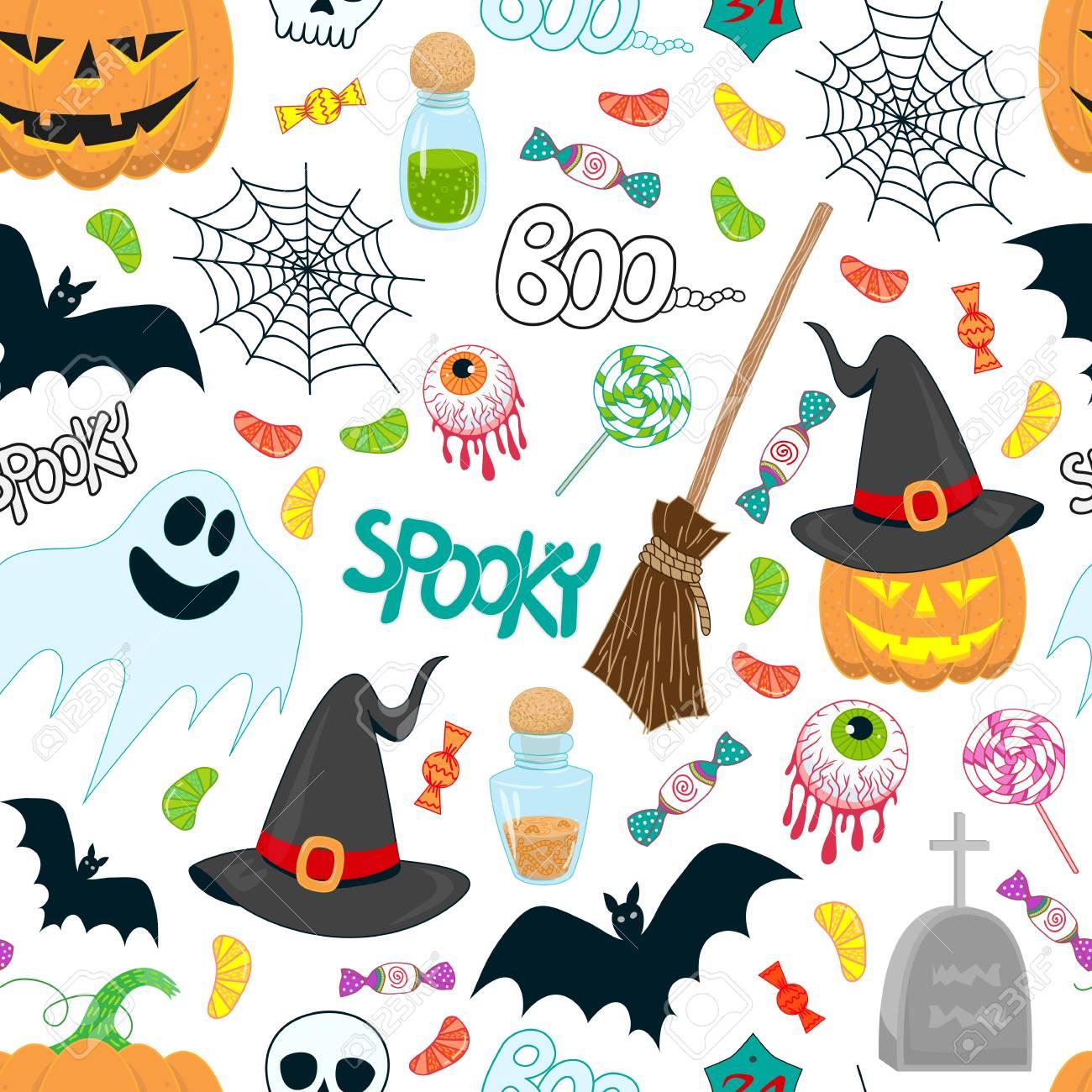 pattern Halloween Magic Hat