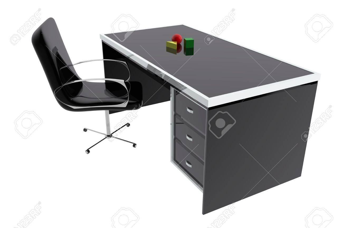 Stuhl Und Schreibtisch Tisch Buro Lizenzfreie Fotos Bilder Und Stock Fotografie Image 15210223