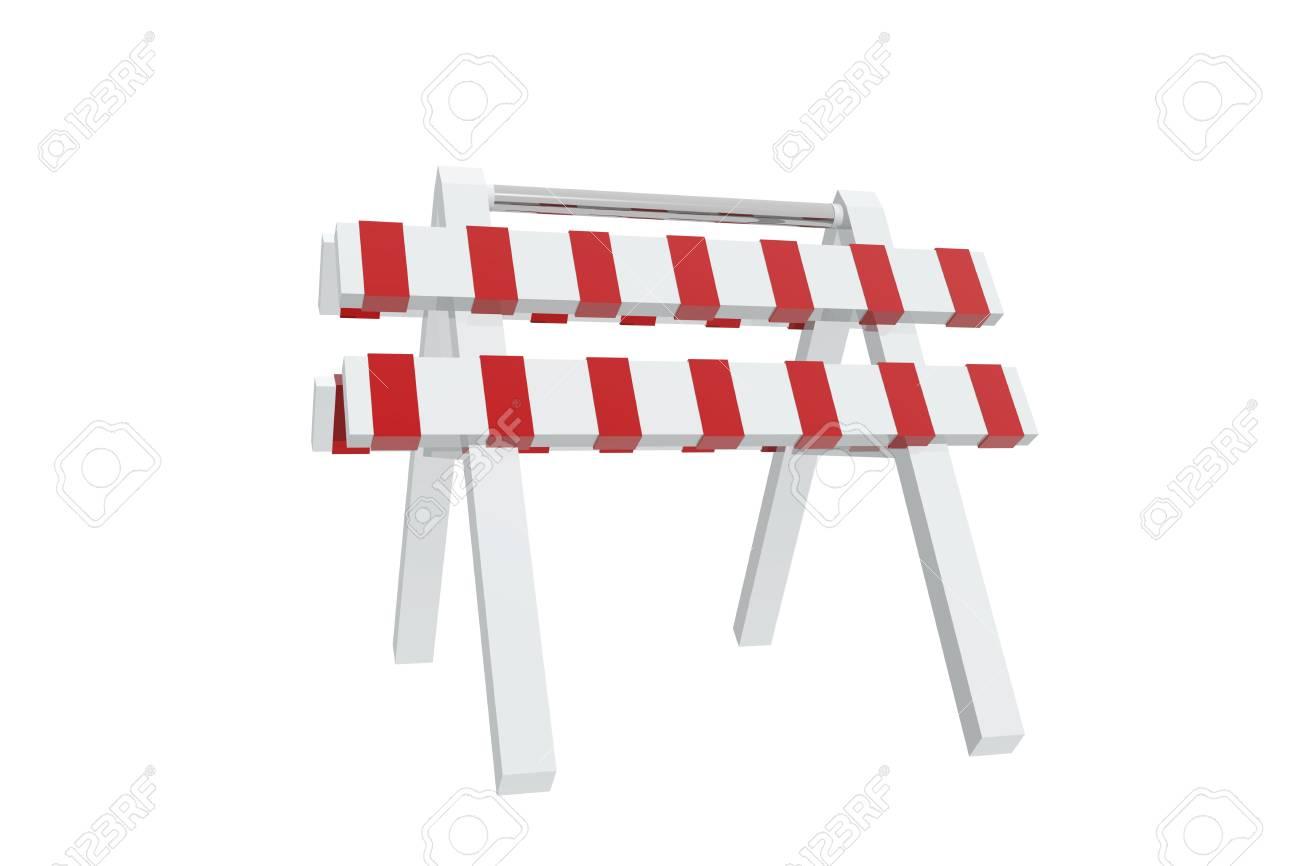 Rote Und Weiße Schranke Lizenzfreie Fotos, Bilder Und Stock ...