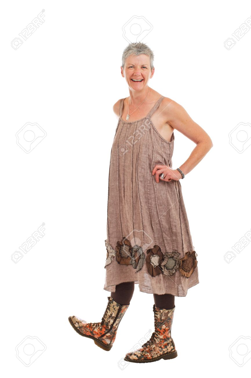 Vestidos mujer mayor