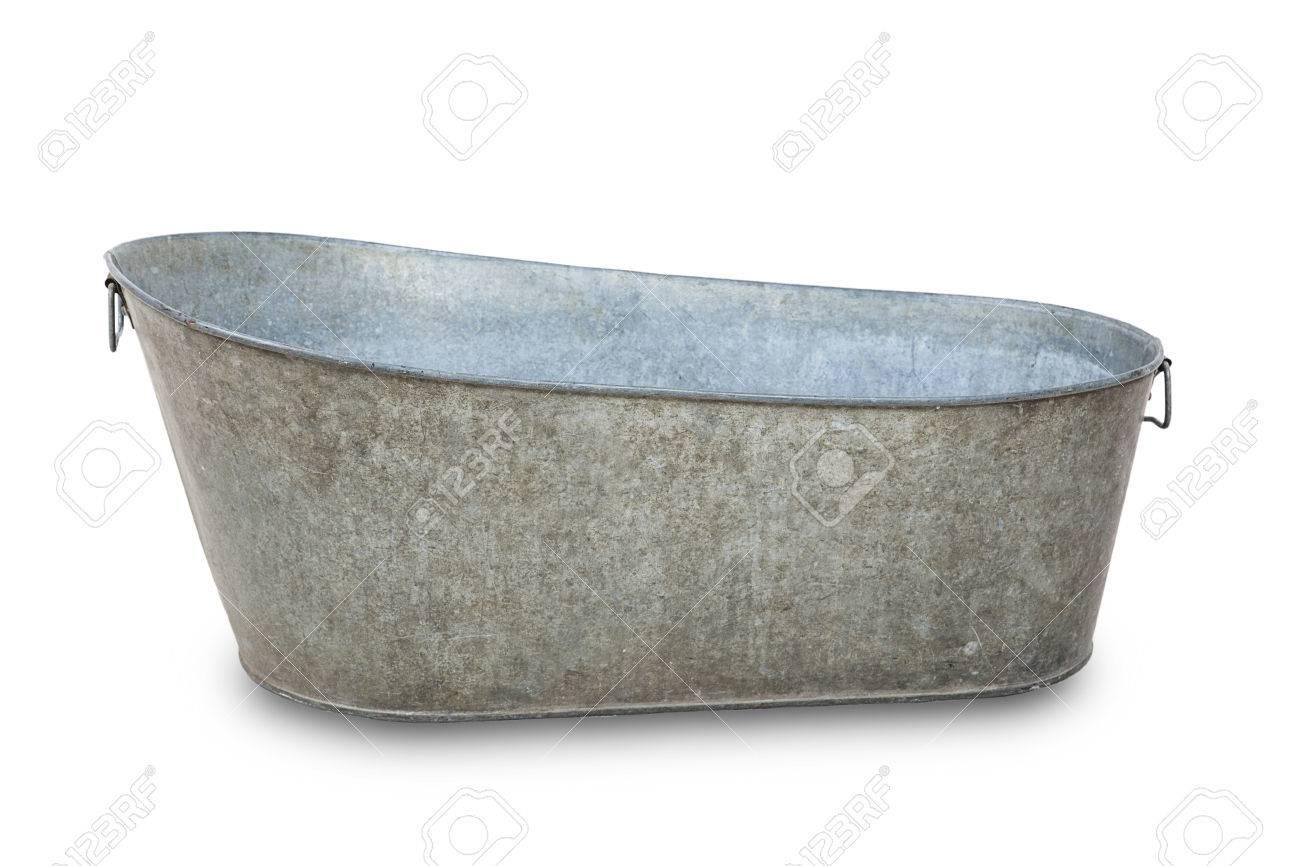 Badewanne aus metall
