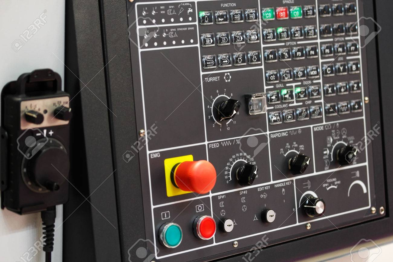 Cnc control panel with mpg pendant handwheel controller stock photo cnc control panel with mpg pendant handwheel controller stock photo 47913180 aloadofball Image collections