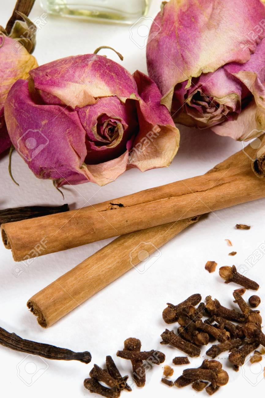 Dry flowers and spices. Stock Photo - 2934594