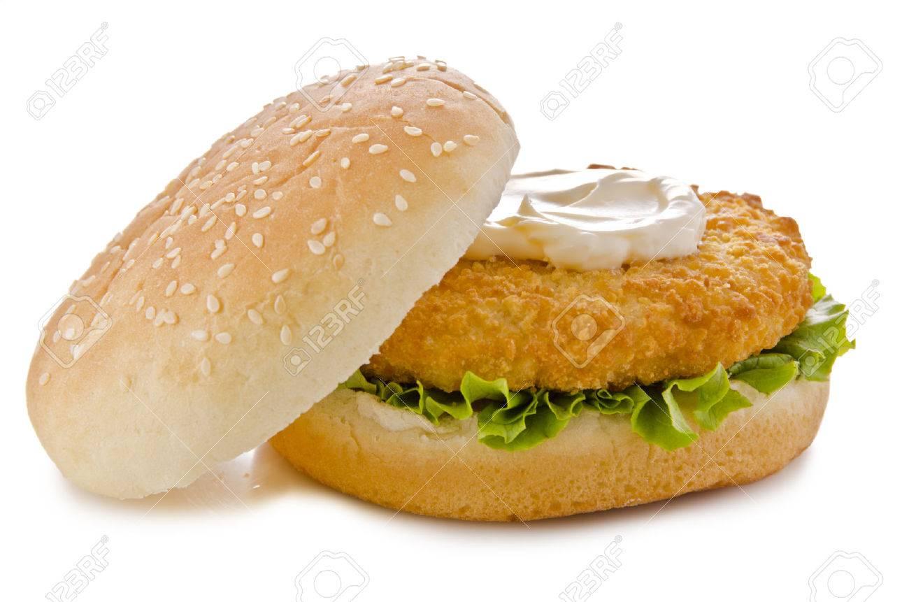 Chicken burger - 34322816