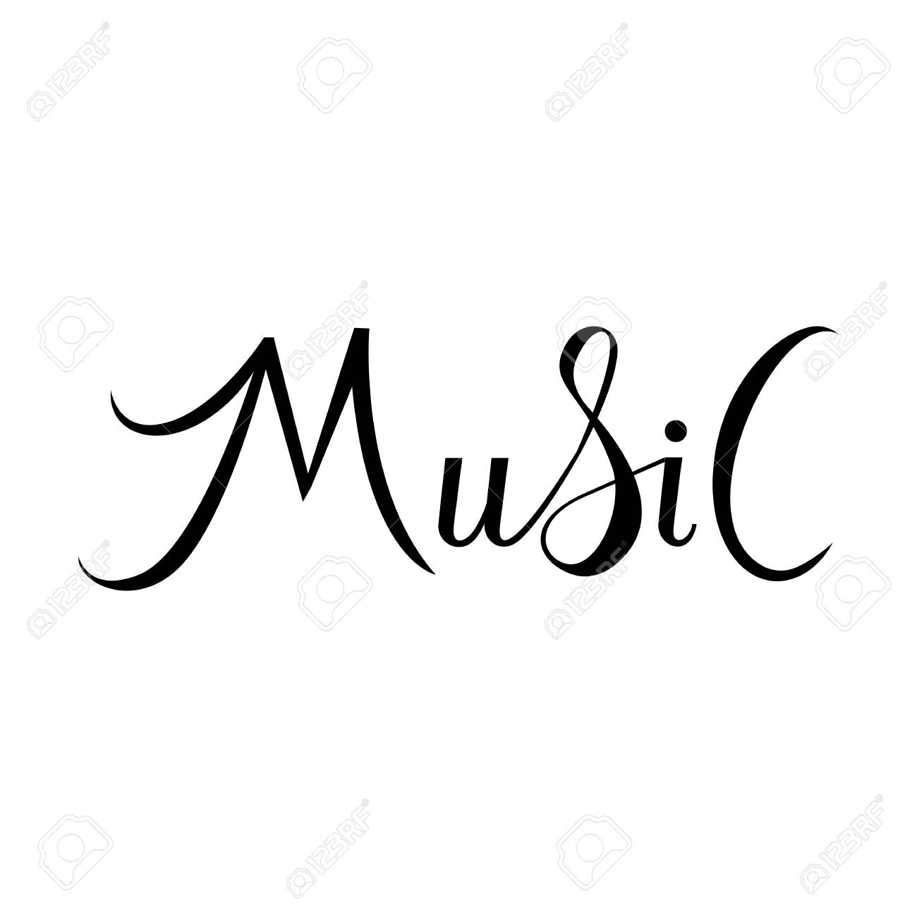 картинки с надписью музыка