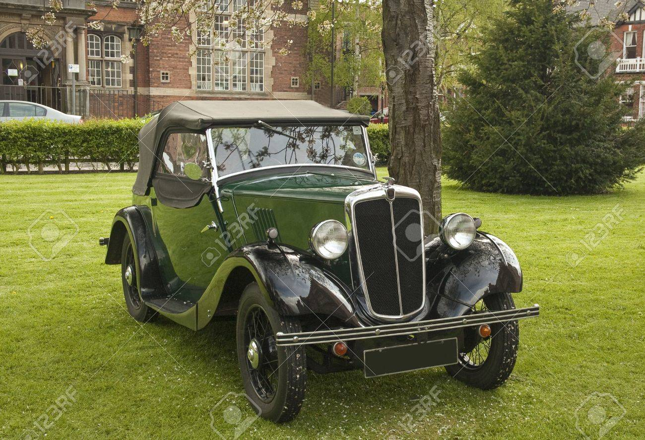 Morris Soft Top Tourer,year Of Manufacture 1939 Seen At Classic ...