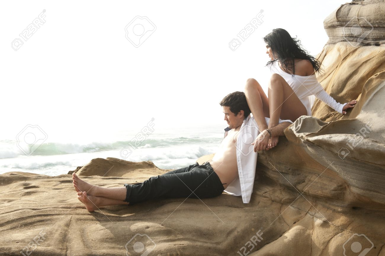 Beach love sexy