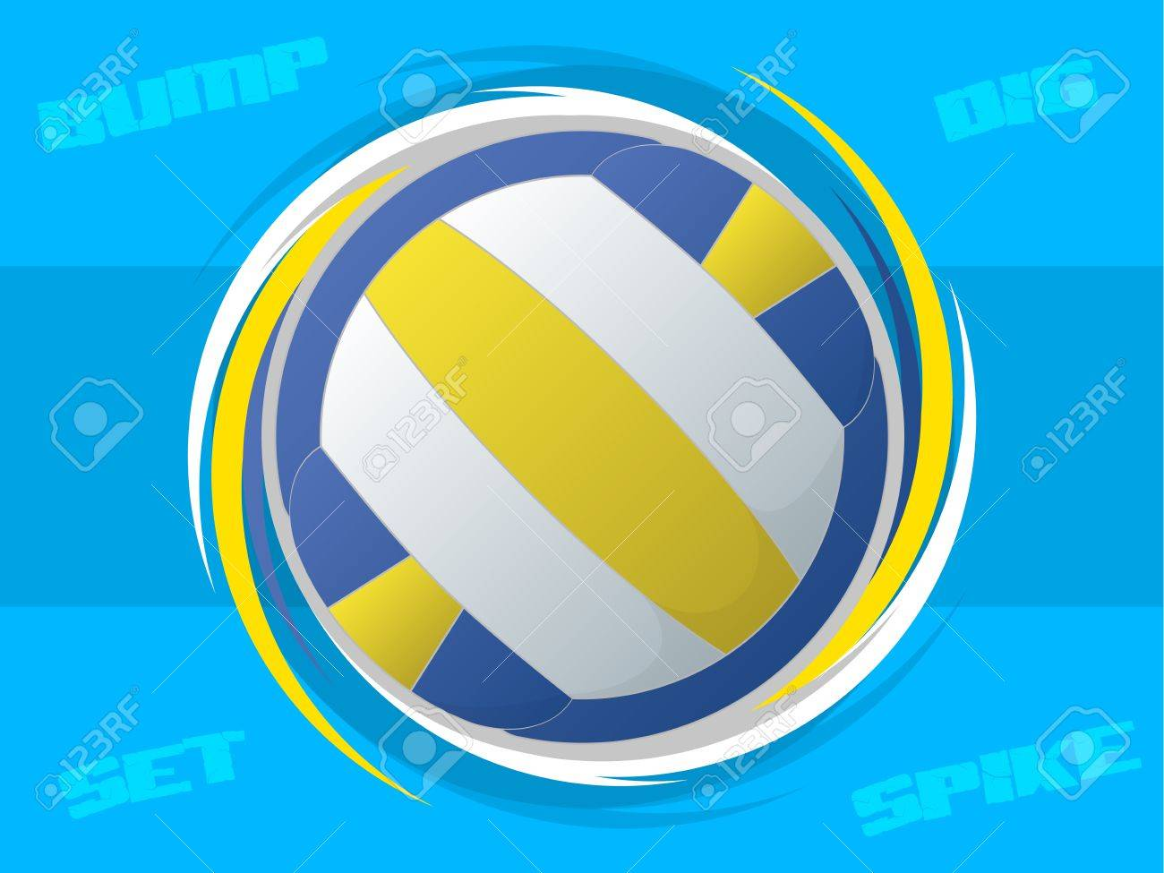 Volleyball Icon Stock Vector - 16019138