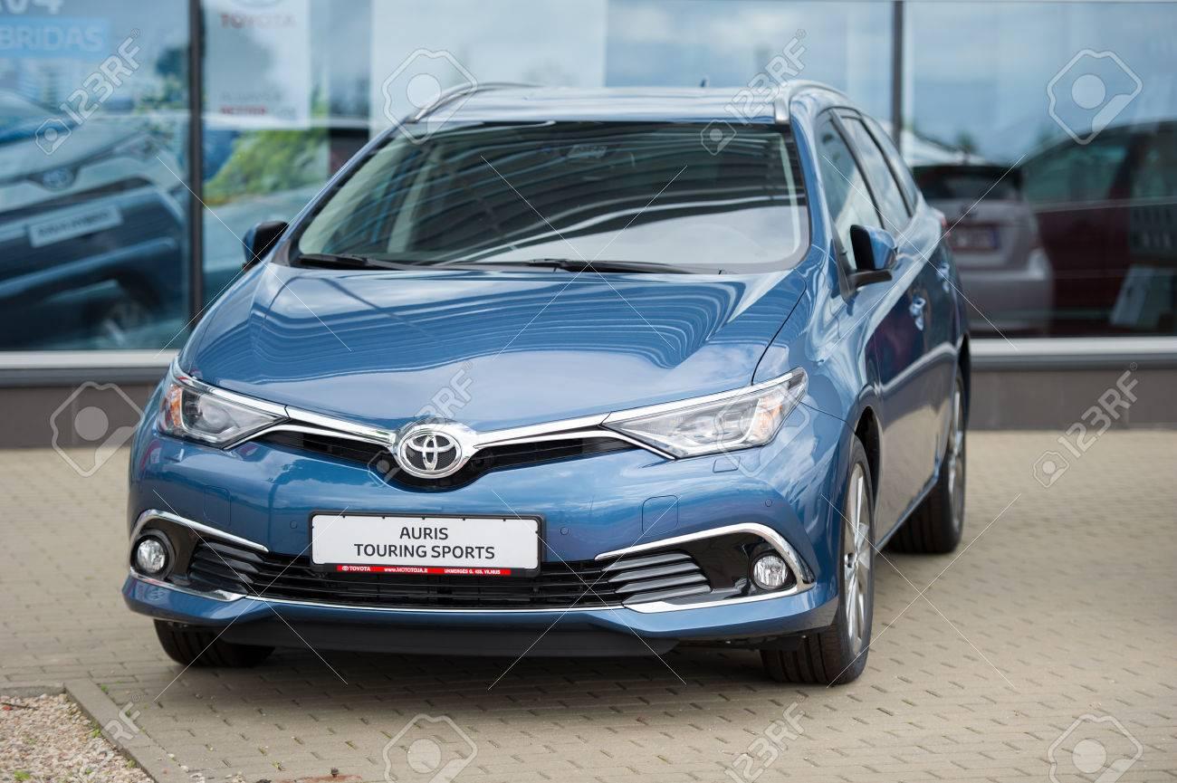 Toyota Auris 2016 >> Vilnius Lithuania August 7 2016 Brand New Toyota Auris Touring