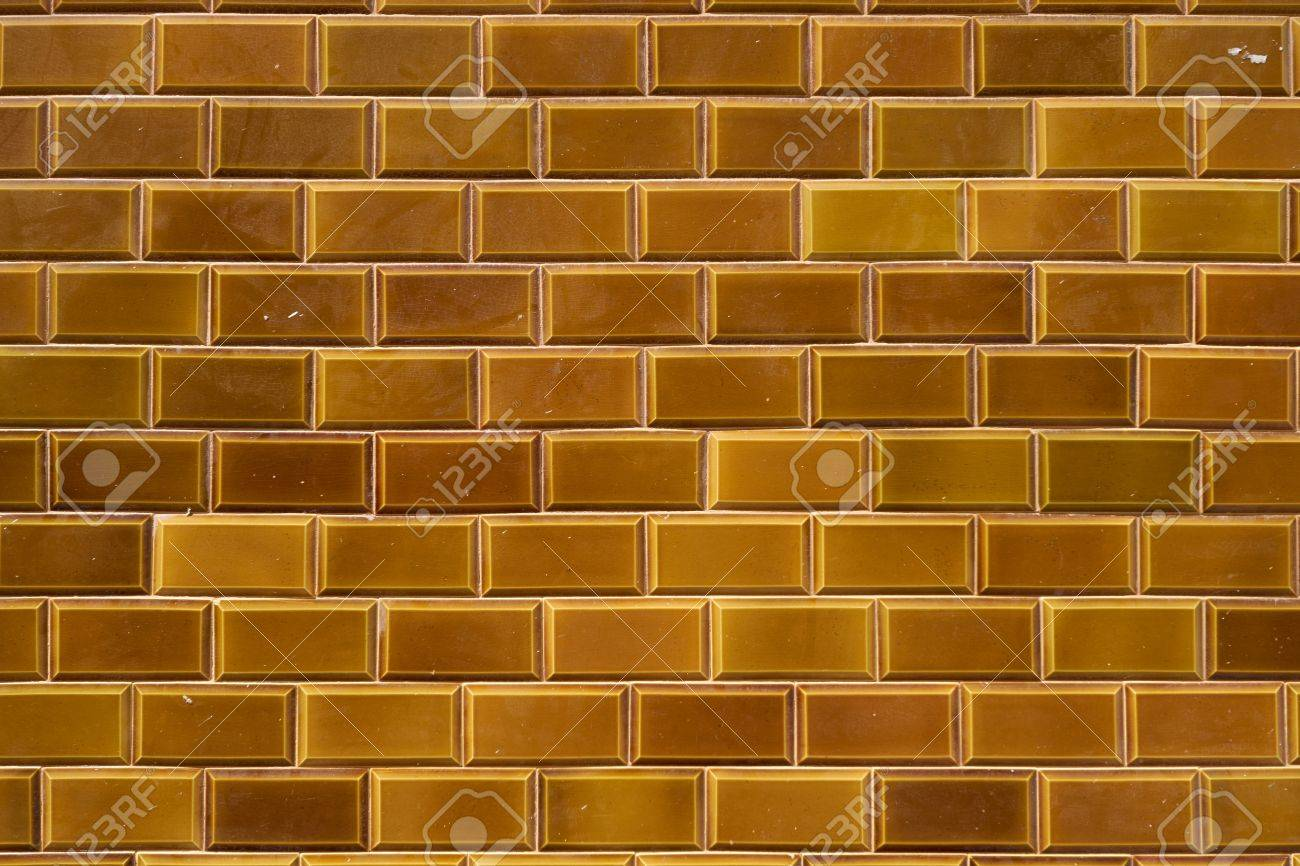Dark Yellow Outdoor Ceramic Tiles From Lanzarote, Canary Islands ...