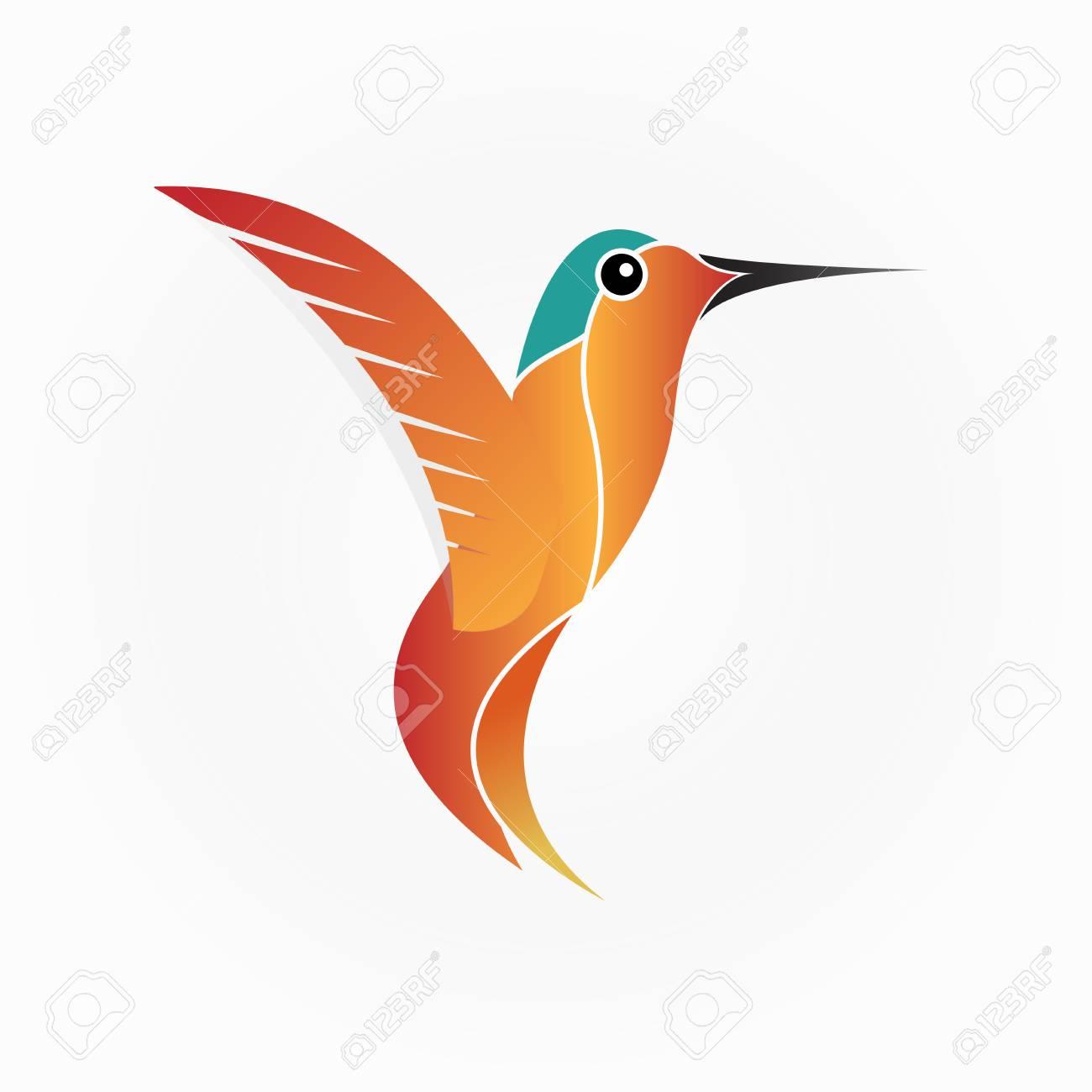 hummingbird vector illustration royalty free cliparts vectors