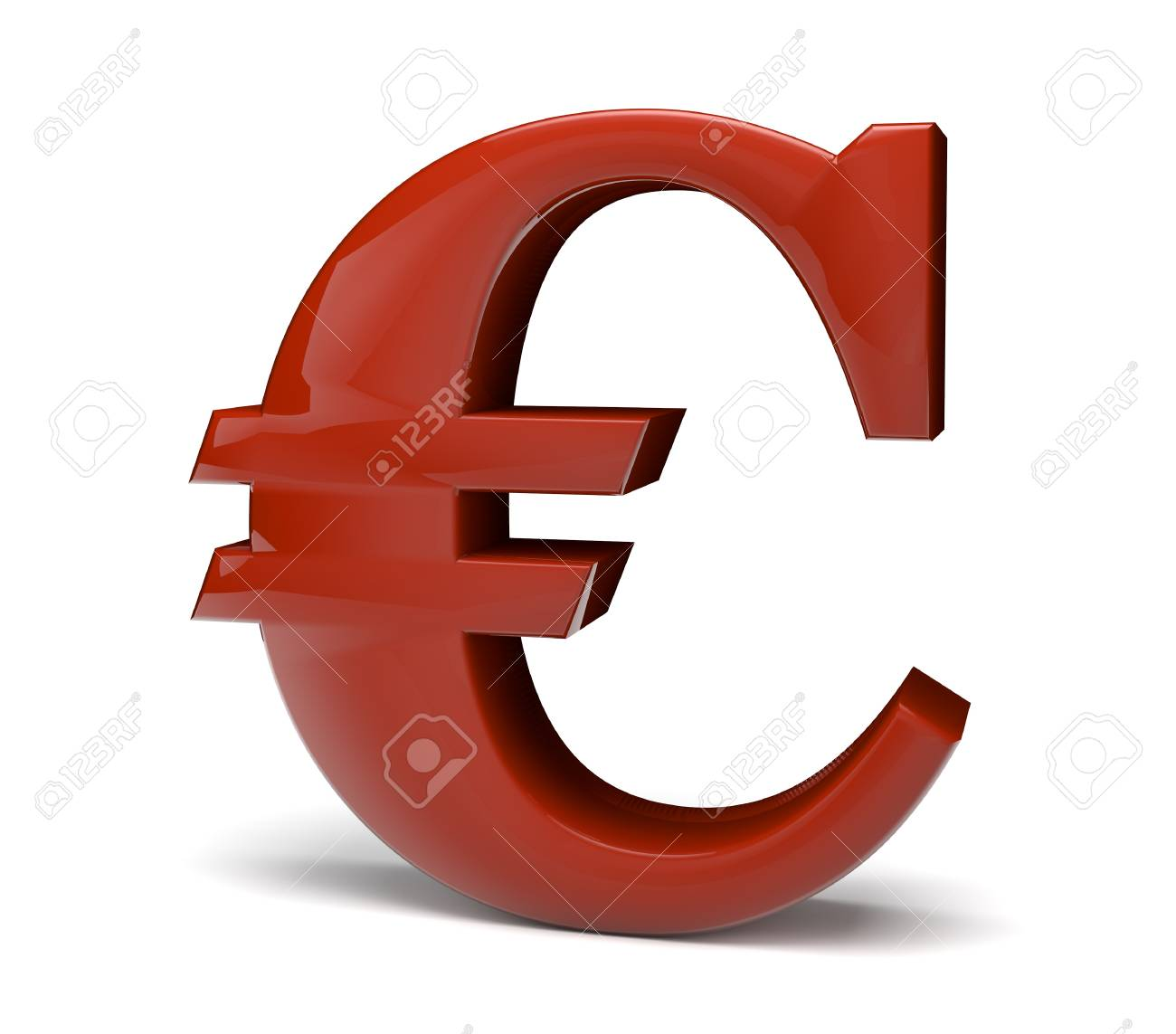3d Render Of The Euro Symbol Stock Photo Picture And Royalty Free
