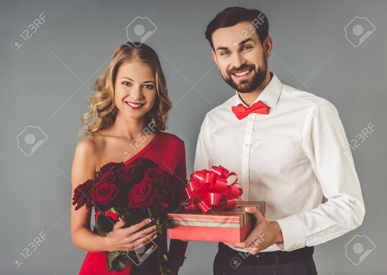 Robe rouge classique
