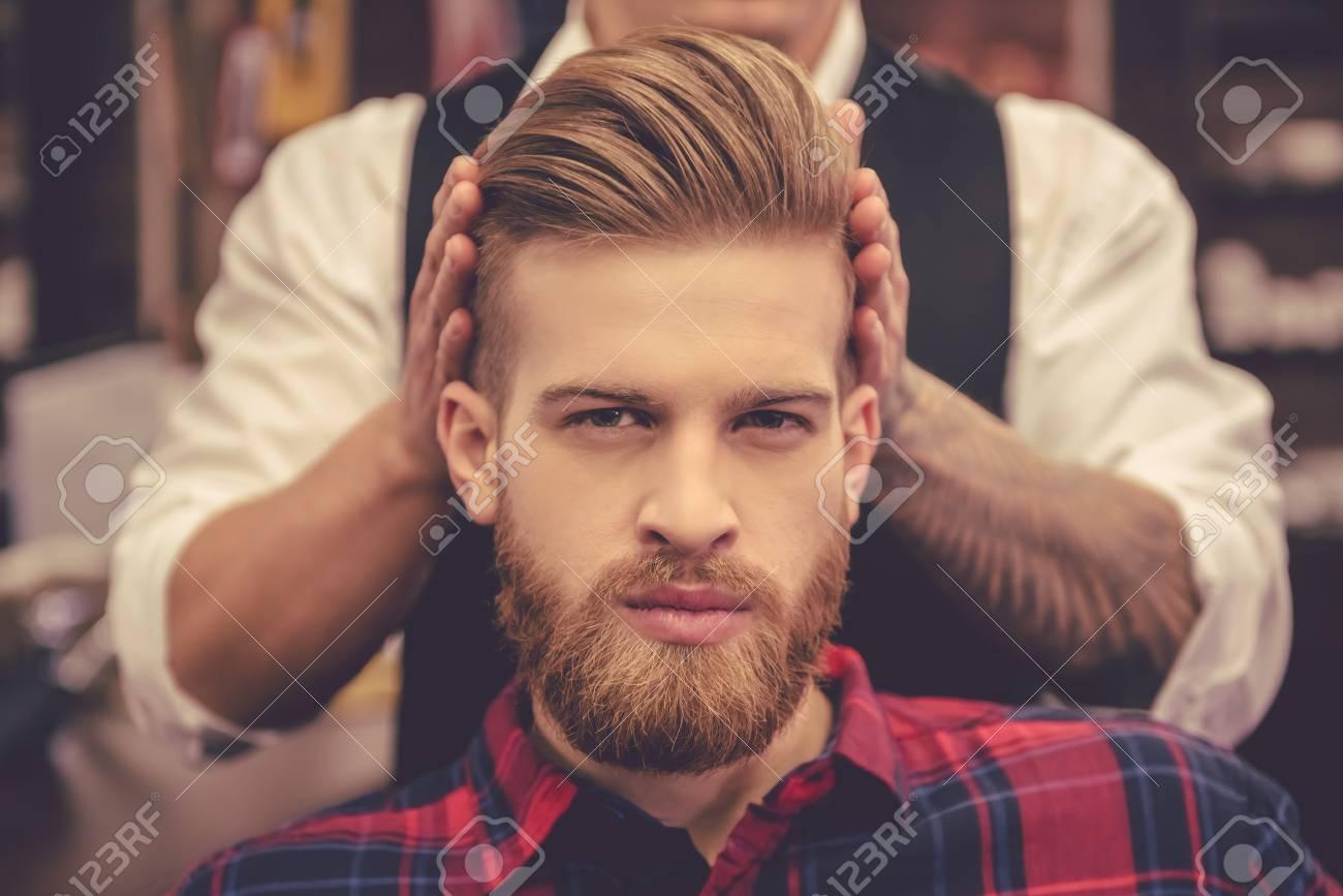 Cortes de cabello hombre barberia
