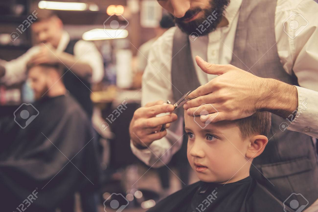 Getting A Haircut 83