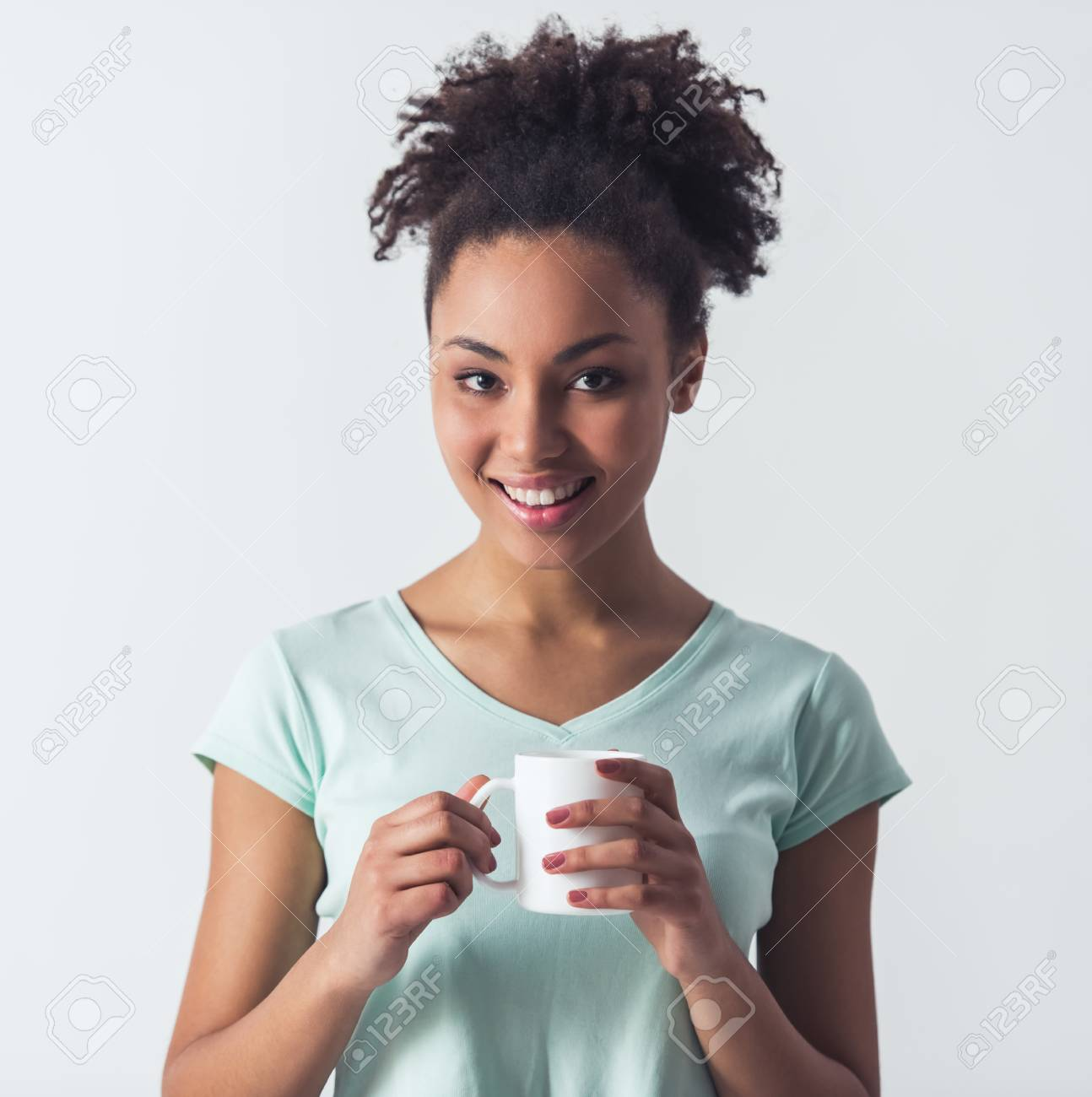 Afro american girl